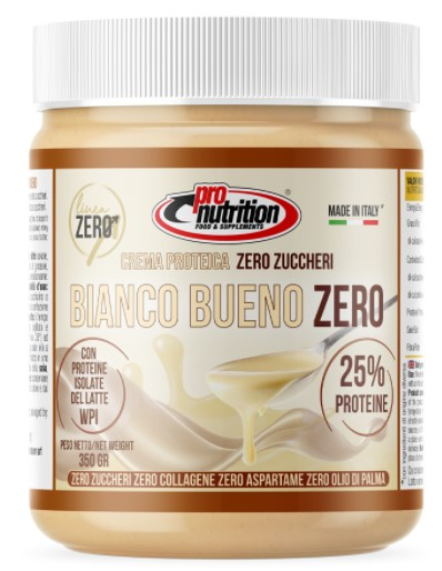 PRONUTRITION CREMA PROTEICA 25% BIANCO BUENO ZERO 350 G - Farmacia Massaro