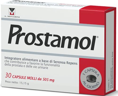 PROSTAMOL 30 CAPSULE MOLLI - Farmacia Centrale Dr. Monteleone Adriano