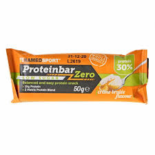 NAMED SPORT PROTEINBAR ZERO CREME BRULEE 50 G - Farmastar.it