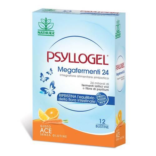 Psyllogel Megafermenti 24 ACE 12 Bustine - Farmalilla