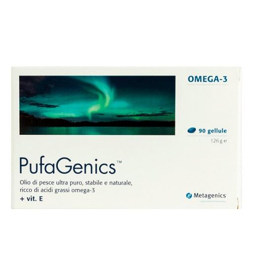 Pufagenics Complemento Alimentare Ricco di Omega3 Metagenics 90 gellule - Farmastar.it