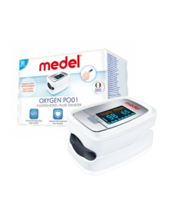 PULSOSSIMETRO MEDEL OXYGEN PO01 - Farmapage.it