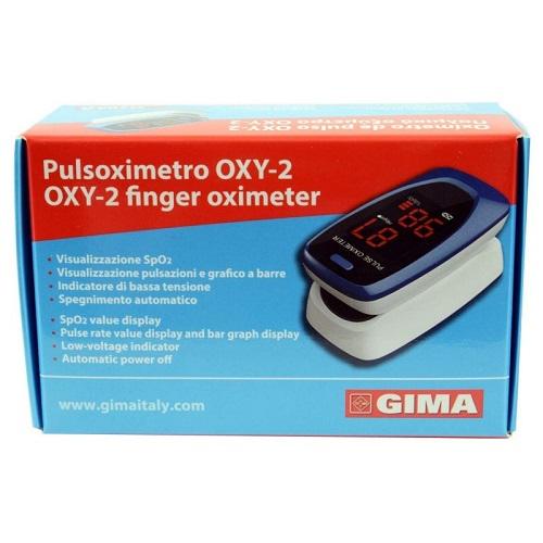 PULSOSSIMETRO DA DITO OXY-2 SCHERMO LED 60X30,5X32,5MM 1 PEZZO - Farmafamily.it