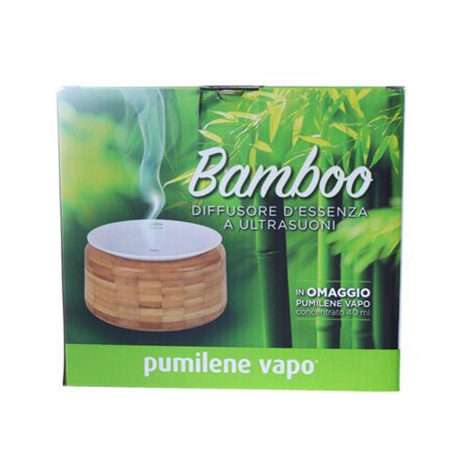 PUMILENE VAPO BAMBOO DIFFUSORE ULTRASUONI - Farmastar.it