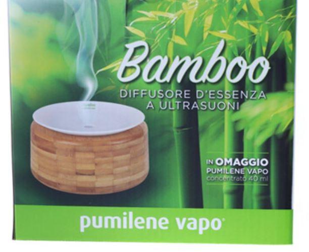 PUMILENE VAPO BAMBOO DIFFUSORE ULTRASUONI - Farmacia 33