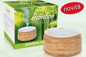 PUMILENE VAPO BAMBOO DIFFUSORE ULTRASUONI - Farmawing
