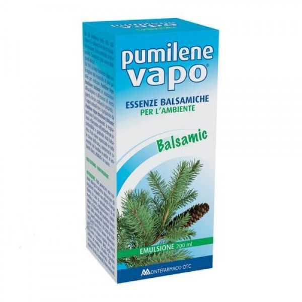 PUMILENE VAPO ESSENZE BALSAMICHE EMULSIONE 200 ML - Farmastar.it