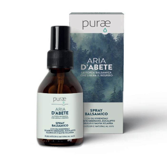 PURAE BALSAMICO ARIA D'ABETE SPRAY 100 ML - farmaciadeglispeziali.it