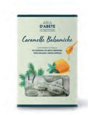 PURAE PURAE CARAMELLE BALSAMICHE 80 G CON OLIO ESSENZIALE ARIA D'ABETE - farmaciadeglispeziali.it