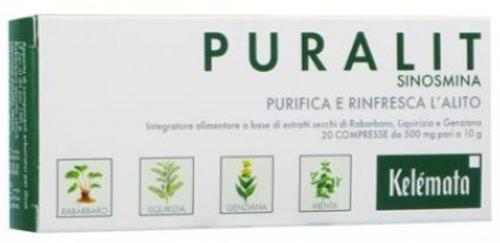 PURALIT COMPRESSE 20 COMPRESSE - Farmacia Centrale Dr. Monteleone Adriano