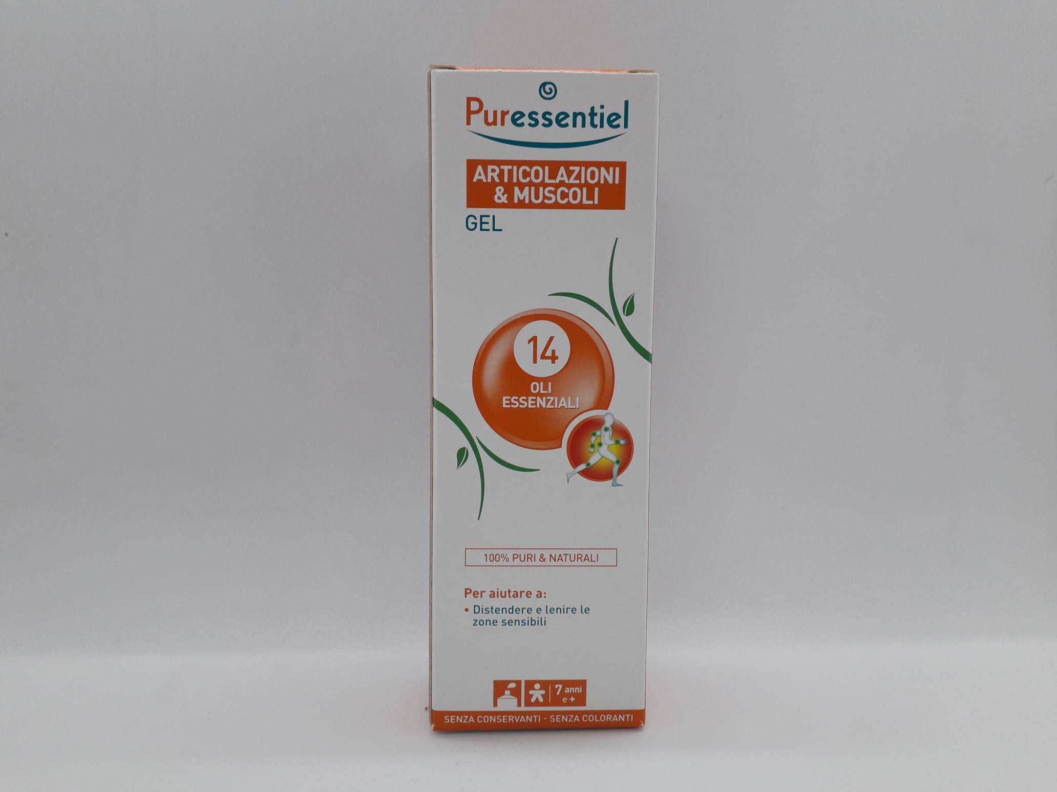 PURESSENTIEL GEL ARTICOLAZIONI & MUSCOLI DISPOSITIVO MEDICO 60 ML - Farmaciaempatica.it
