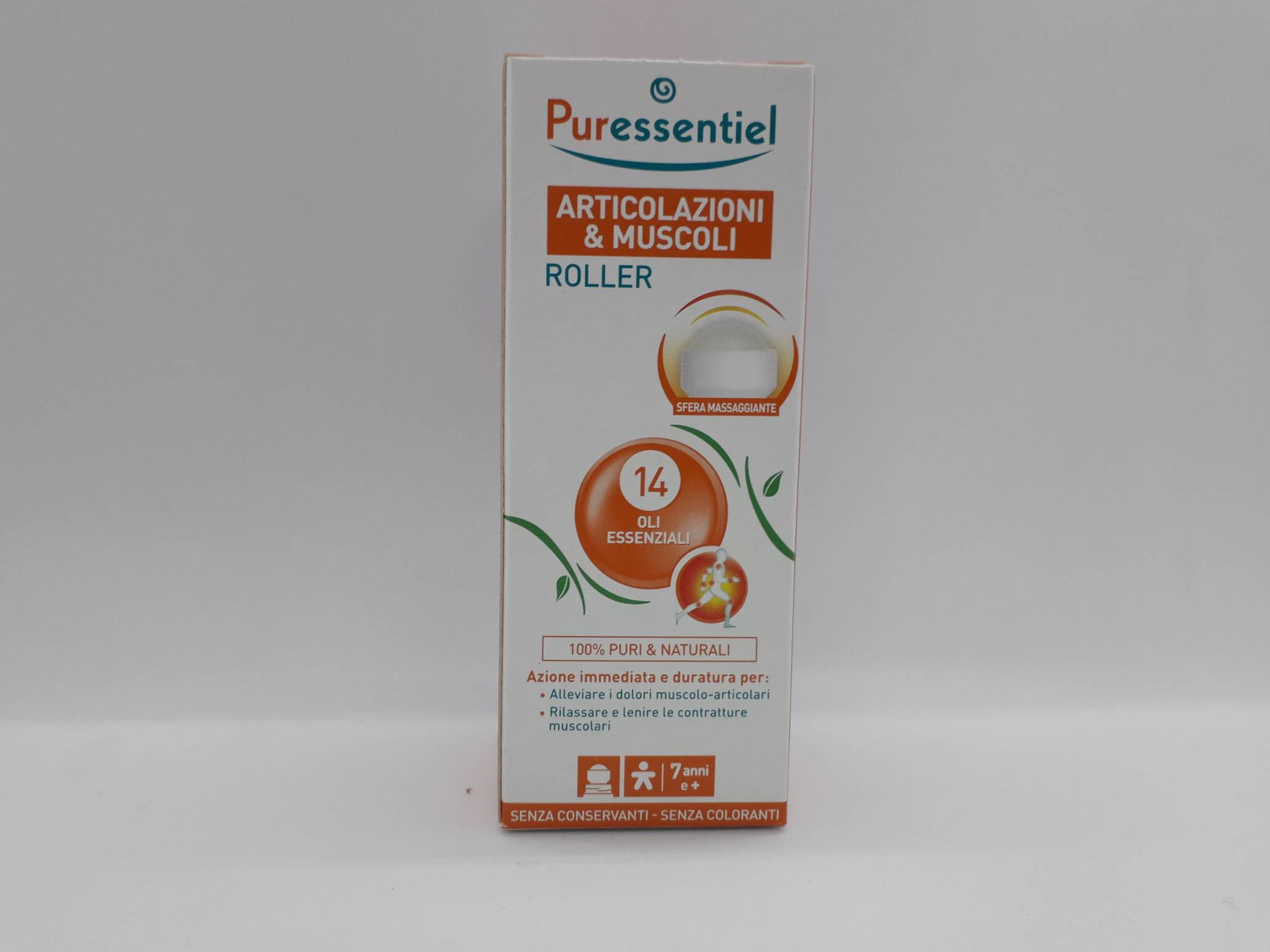 PURESSENTIEL ROLLER ARTICOLAZIONI MUSCOLI 75 ML - Farmaciaempatica.it