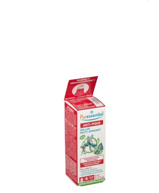 Puressentiel SOS Insetti Roll  On Multi Lenitivo  Bio 5 ml - latuafarmaciaonline.it