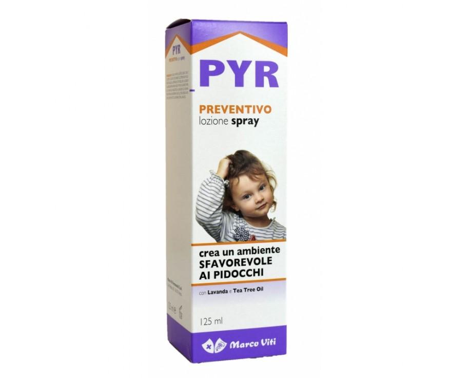 Pyr Preventivo Pidocchi Spray - Farmafamily.it
