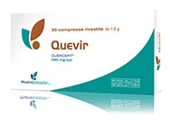 QUEVIR INTEGRATORE QUERCITINA 30 COMPRESSE PHARMEXTRACTA - Farmastar.it