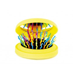SPAZZOLA RAINBOW BRUSH POCKET GIALLO - Farmastar.it