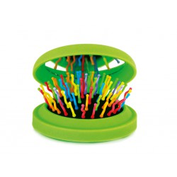 SPAZZOLA RAINBOW BRUSH POCKET VERDE - Farmastar.it