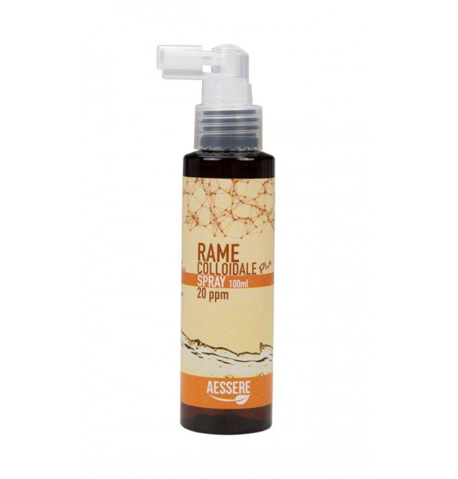 RAME COLLOIDALE PLUS SPRAY 20PPM 100 ML - Iltuobenessereonline.it