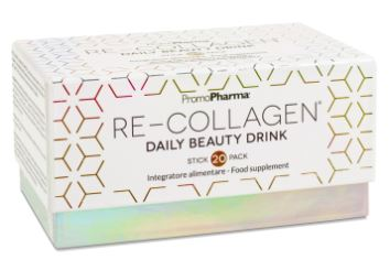 RE-COLLAGEN DAILY BEAUTY DRINK 20 STICK PACK X 12 ML - Farmacia 33