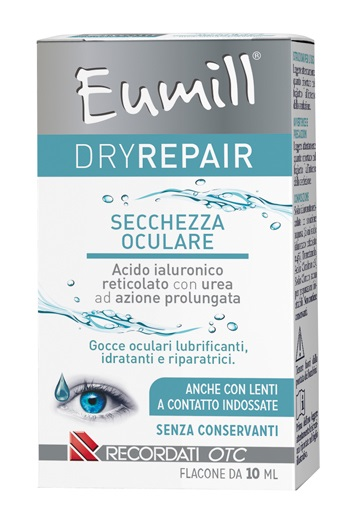 Recordati Eumill Dryrepair Gocce Oculari 10 ml - Farmafamily.it