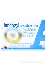 Imidazyl Antistaminico Collirio 10 Flaconcini Monodose Da 0,5ml - Farmawing