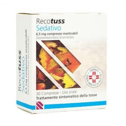 RECOTUSS SEDATATIVO 6,5MG 30CPR MASTICABILI - Farmapage.it