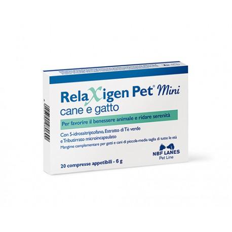 RELAXIGEN PET MINI BLISTER 20 COMPRESSE - Speedyfarma.it
