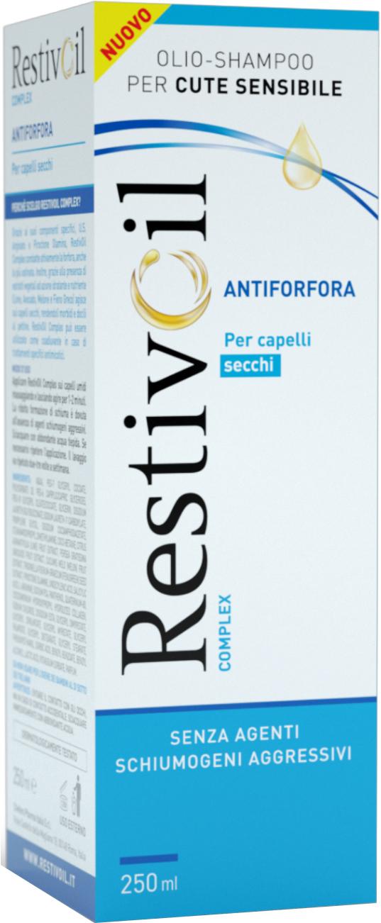 RESTIVOIL COMPLEX ANTIFORFORA CAPELLI SECCHI 250 ML - Farmacia Centrale Dr. Monteleone Adriano