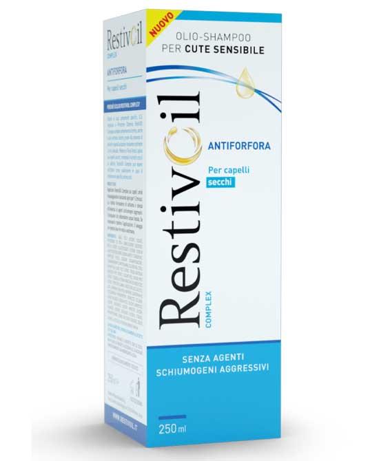 Restivoil Complex Antiforfora Capelli Secchi 250 ml - latuafarmaciaonline.it