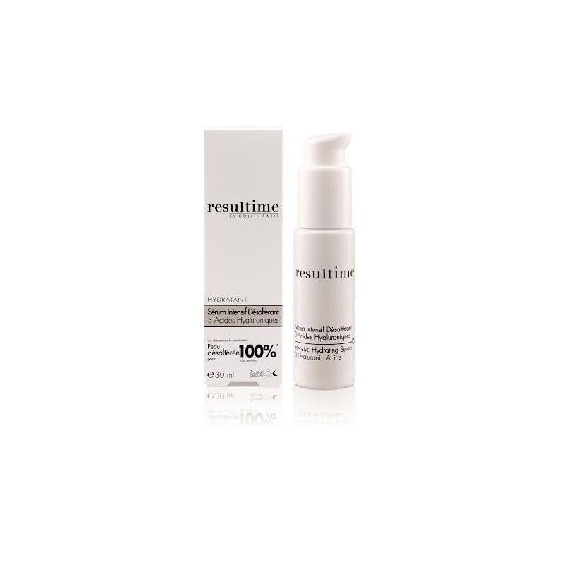 RESULTIME SERUM INTENSIFER DESALTERANT 3 ACIDES HYALURONIQUES 30 ML - Farmastar.it