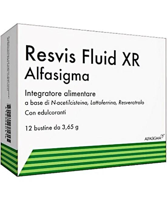 Resvis Fluid XR 12 bustine - Farmaci.me