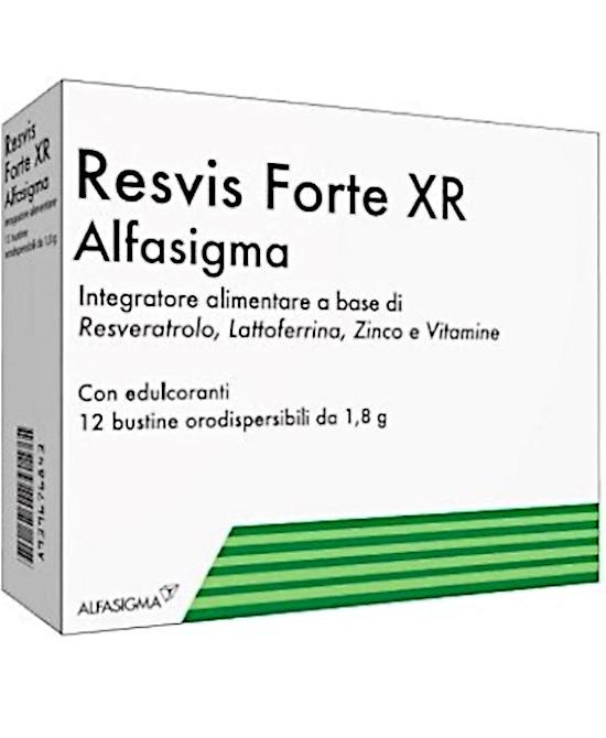 RESVIS FORTE XR 12 BUSTE - Farmaci.me