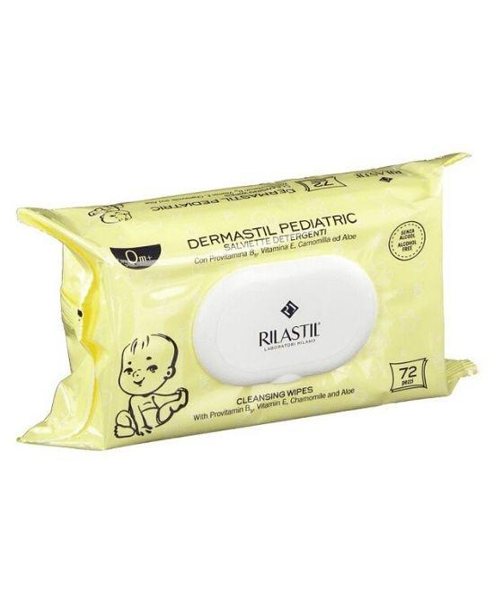 RILASTIL DERMASTIL SALVIETTE 72 PEZZI - Farmapage.it