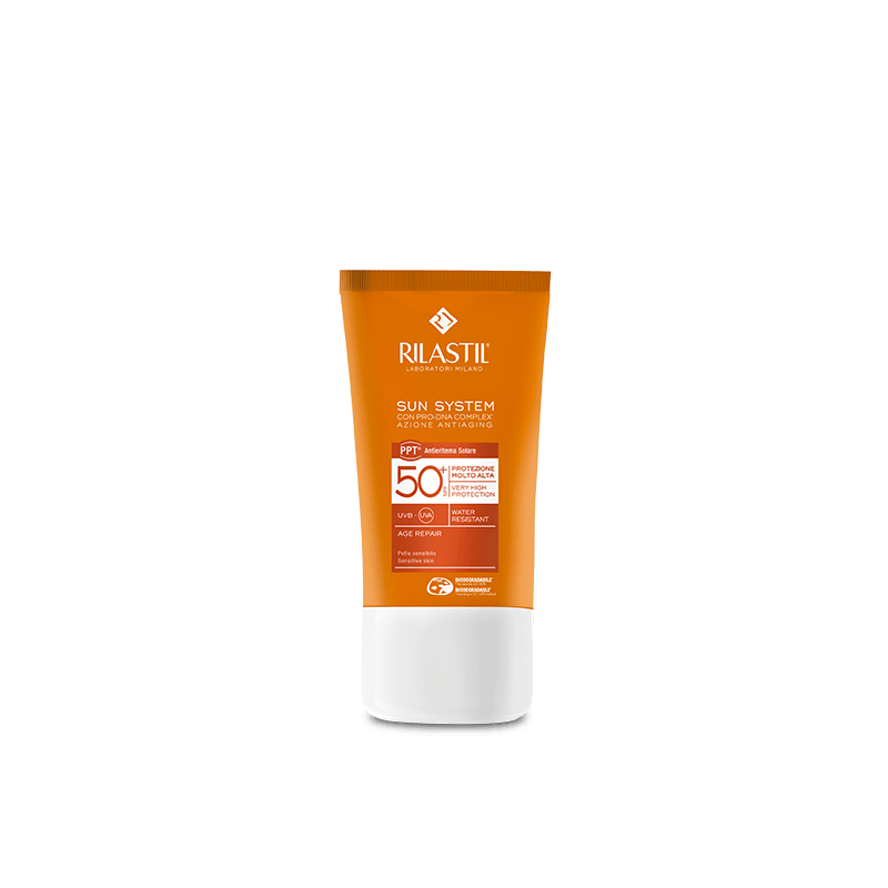 RILASTIL SUN SYSTEM AGE REPAIR SPF 50 40 ML - latuafarmaciaonline.it