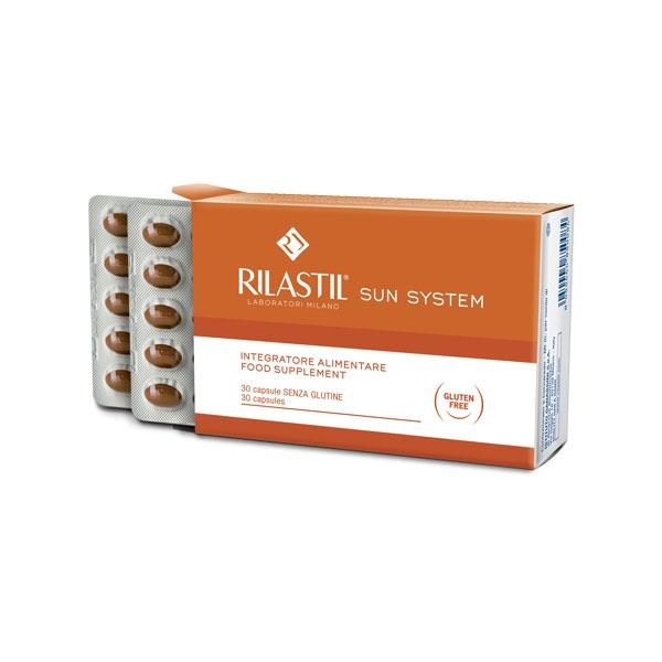 RILASTIL SUN SYSTEM 30 CAPSULE PREZZO SPECIALE - Farmapage.it