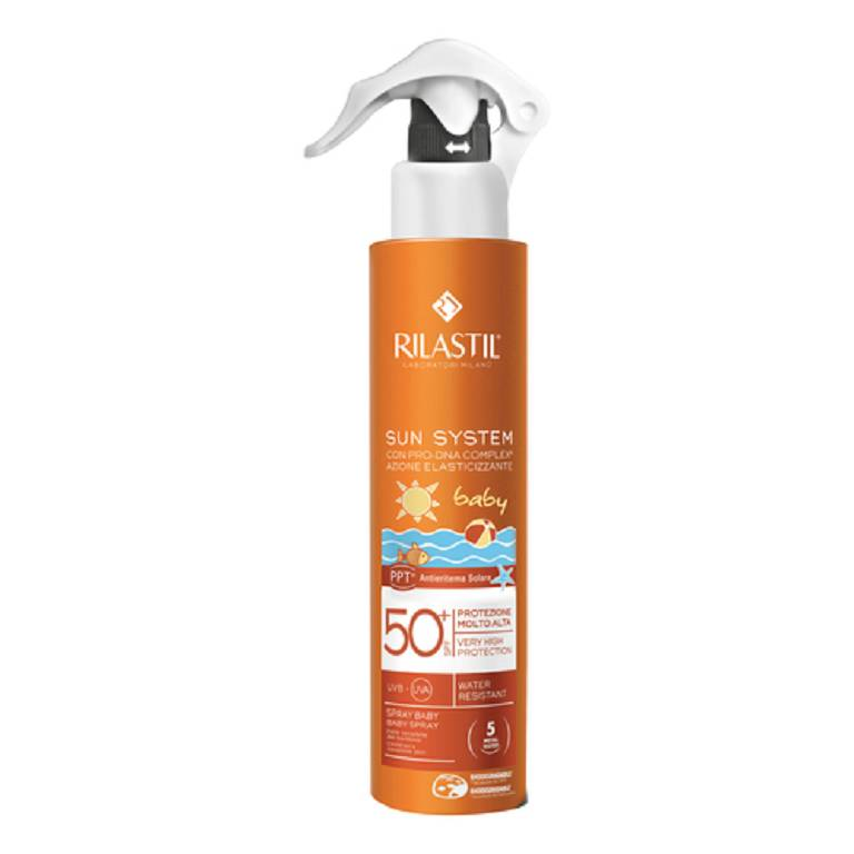 Rilastil Sun System Baby Spf 50+ Spray  200 ml - FARMAPRIME