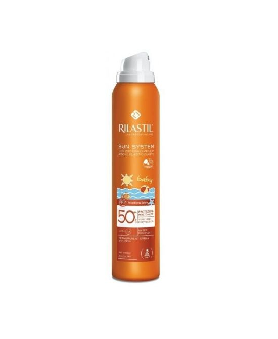 RILASTIL SUN SYSTEM PPT SPF 50+ BABY SPRAY VAPO 200 ML - Farmapage.it