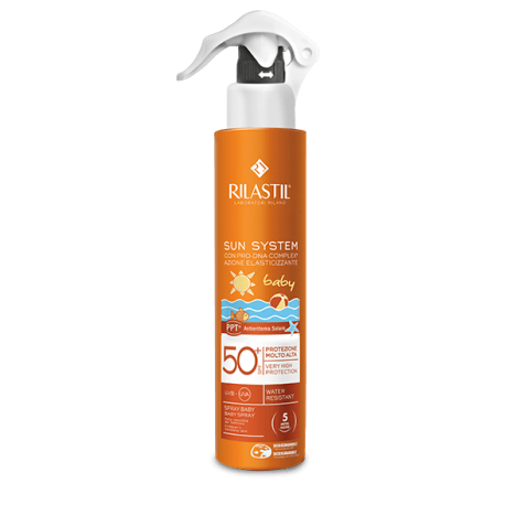 RILASTIL SOLE SUN SYSTEM PPT SPF 50+ BABY SPRAY VAPO 200 ML - Farmastar.it
