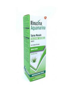RINAZINA AQUAMARINA ISOTONICA ALOE SPRAY NEBULIZZAZIONE INTENSA 100 ML - Farmacento