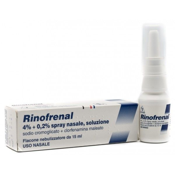 Rinofrenal Spray Nasale Soluzione 15ml - Farmapage.it