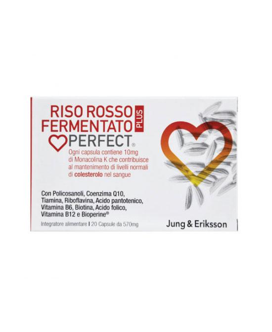Riso Rosso Fermentato Plus J & E 20 capsule - latuafarmaciaonline.it