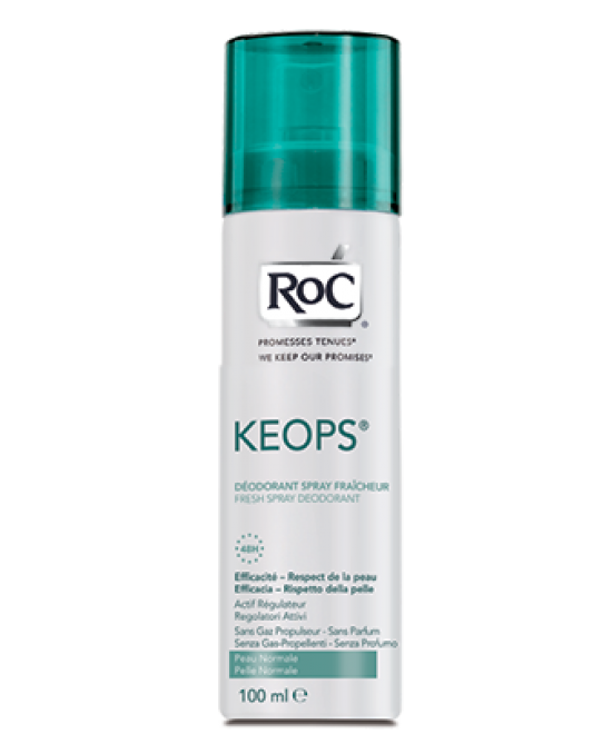 ROC KEOPS DEODORANTE SPRAY FRESCO 100 ML - Zfarmacia