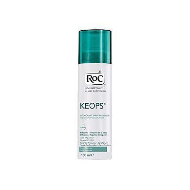 Roc Keops Deodorante Spray Fresco 100ml - Arcafarma.it