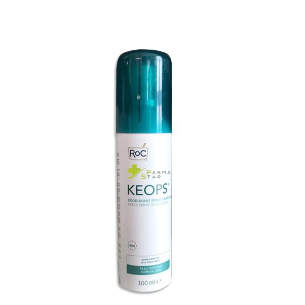 ROC KEOPS DEODORANTE SPRAY FRESCO 48H 100 ML - Farmastar.it