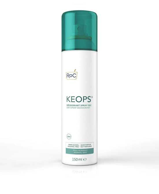 Roc Keops Spray Secco 24 Ore 150 ML - latuafarmaciaonline.it