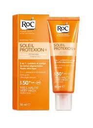 Roc Solari Crema Anti Macchie Fluida SPF50+  50ml - pharmaluna