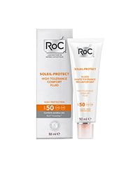 Roc Solari Crema Fluida Comfort Elevata Tollerabilità SPF50 50ml  - pharmaluna