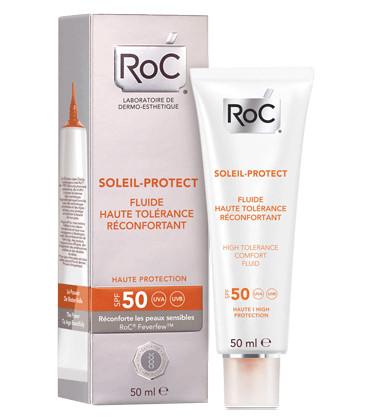 Roc Solari Crema Fluida Comfort Elevata Tollerabilità SPF 50 50ml - Farmaconvenienza.it