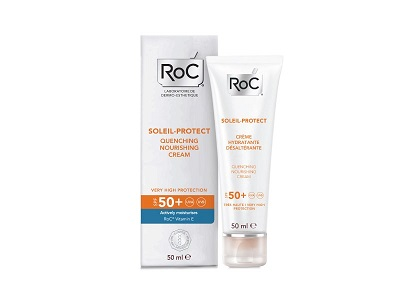Roc Solari Crema Viso Nutriente Protezione SPF50+ 50ml - Farmaconvenienza.it