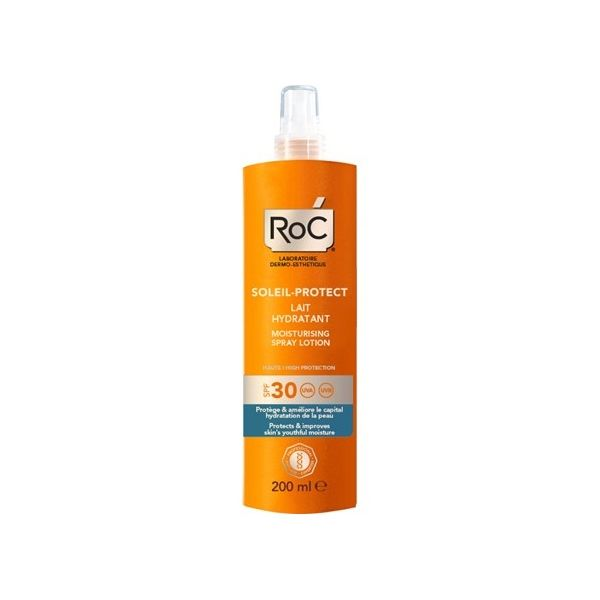 Roc Solari  Latte Idratante Spray SPF 30 200ml - Farmaconvenienza.it